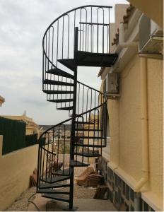 Spiral stairs nr 1