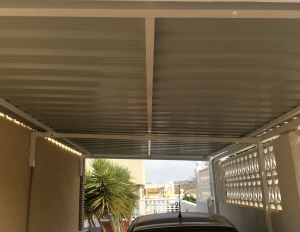 Metal Carports nr 3 home security in Murcia by Eriks Metal Work