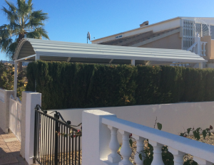 Metal Carports nr 5 home security in Murcia by Eriks Metal Work