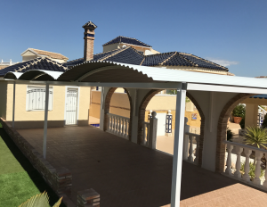 Metal Carports nr 1 home security in Murcia by Eriks Metal Work