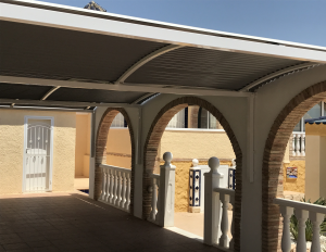 Metal Carports nr 9 home security in Murcia by Eriks Metal Work