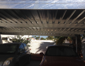 Metal Carports nr 7 home security in Murcia by Eriks Metal Work