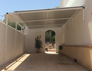 Metal Carports nr 8 home security in Murcia by Eriks Metal Work